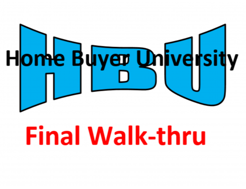 HBU E14 – The Final Walk-Through