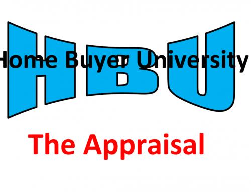 HBU E12 – The Appraisal