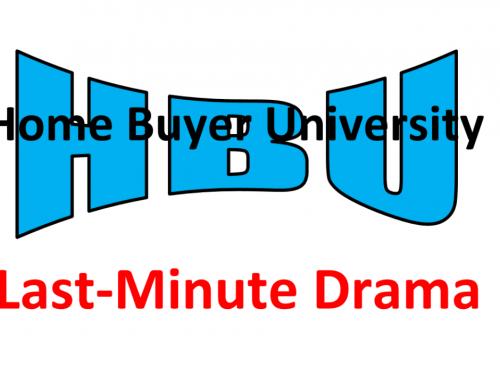 HBU Last-Minute Drama